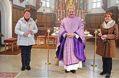 Pfarrer Binder als Rosenkavalier