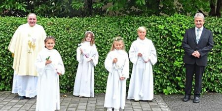 Bronzekreuze zur Erstkommunion